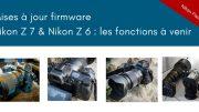 Mises à jour firmware Nikon Z7 et Nikon Z6 : Eye-AF, codec ProRes RAW et cartes CF-Express au menu