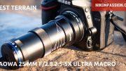 Test Laowa 25 mm f/2.8 2.5-5X Ultra Macro