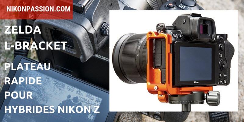 Zelda L-Bracket pour Nikon Z : plateau rapide pour les hybrides Nikon