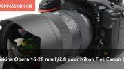 Tokina Opera 16-28 mm f/2.8
