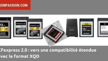 5 fabricants de cartes CFexpress proposent des cartes compatibles XQD