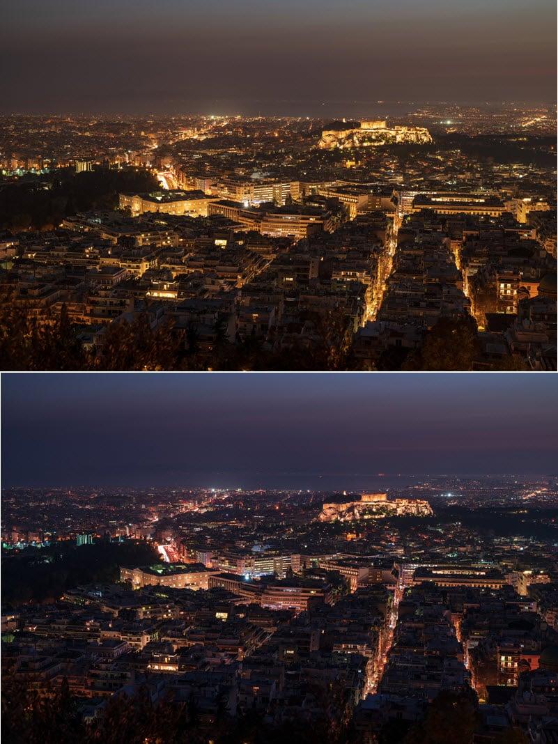 en haut : sans filtreen bas : avec filtrePhotos (C) Christophe Anagnostopoulos