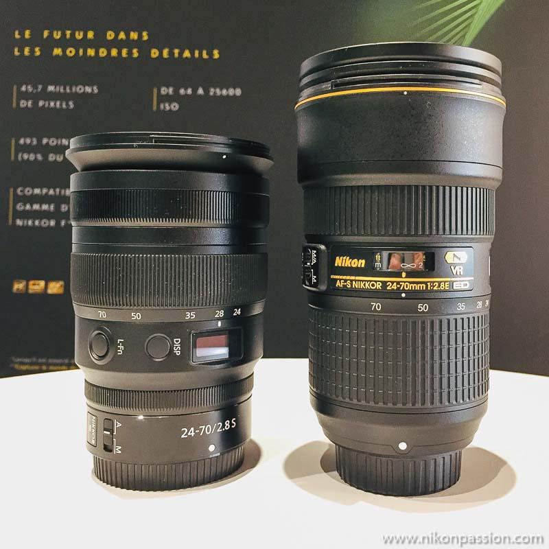 Nikon Z 24-70 mm f/2.8 S : première prise en main