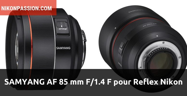 Samyang AF 85 mm f/1.4 F
