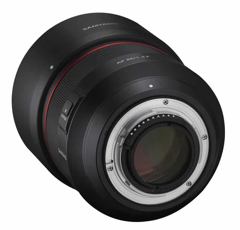 Samyang AF 85 mm f/1.4 F pour reflex Nikon