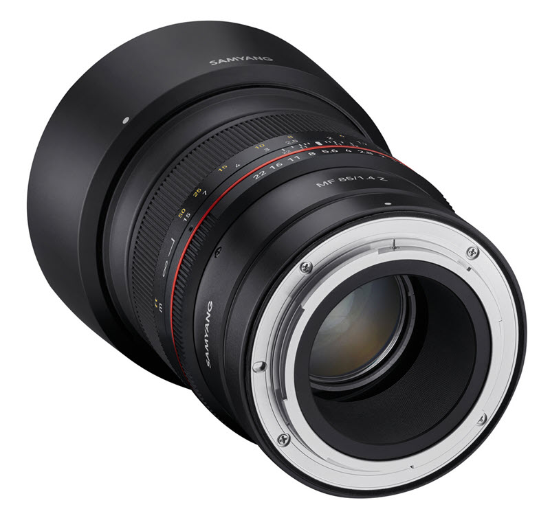 Samyang MF 85 mm f/1.4 Z