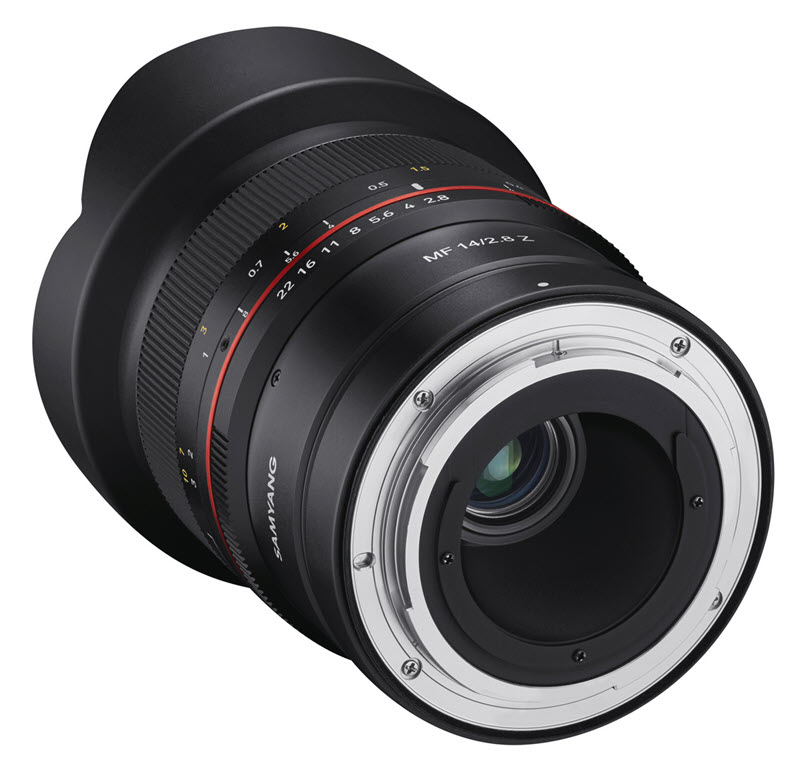 Samyang MF 14 mm f/2.8 Z