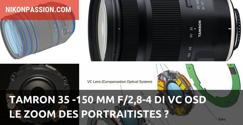Tamron 35 -150 mm f/2,8-4 Di VC OSD