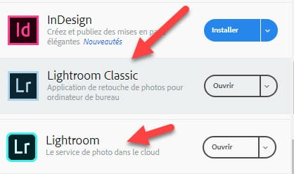 Comment installer Lightroom (pas gratuitement)
