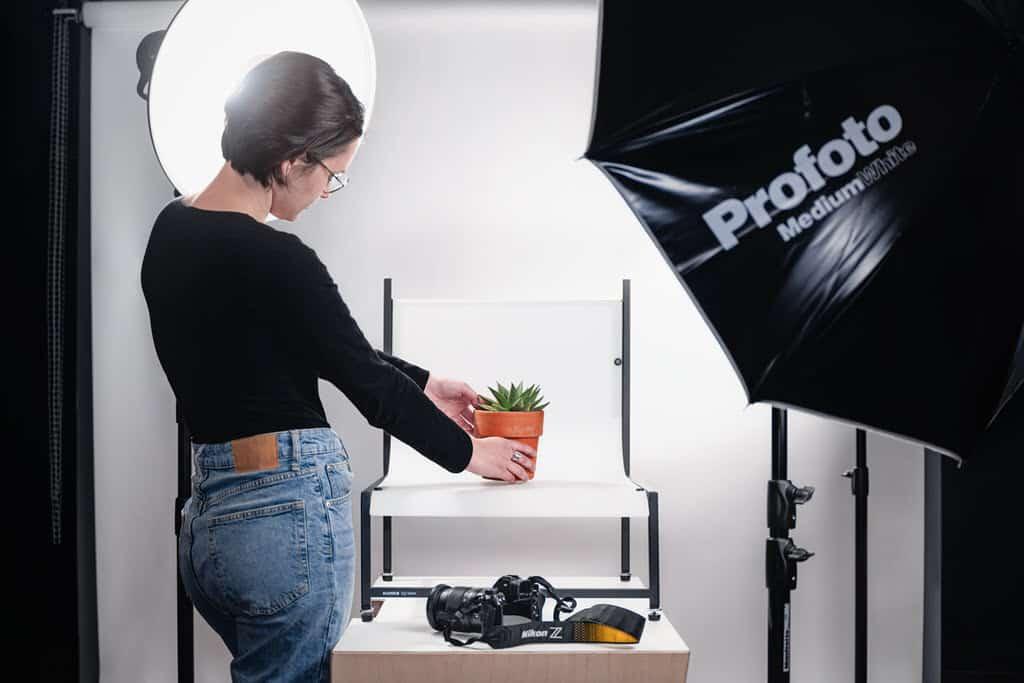 Le studio macro photo pour le cours photo macro de la Nikon School