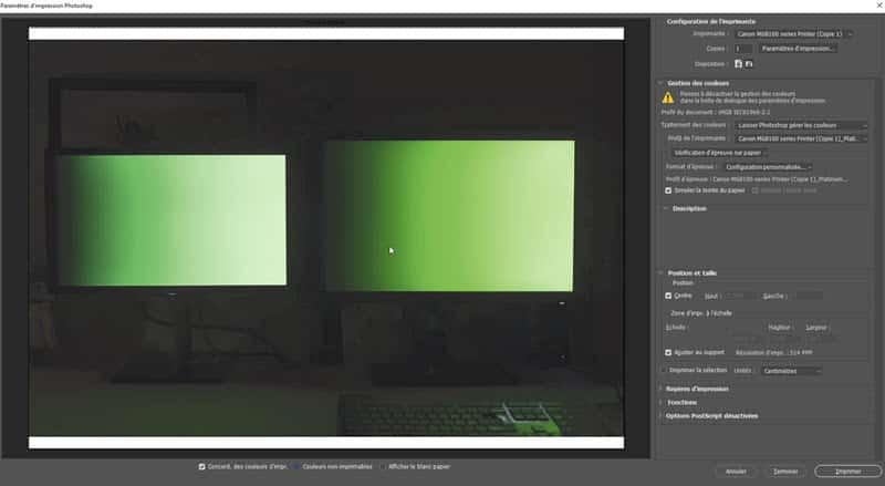 Test de l'écran BenQ SW2700