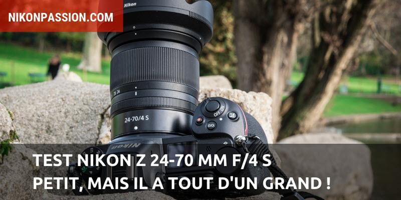 Test Nikon Z 24-70 mm f/4 S