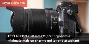 Test Nikon Z 50 mm f/1.8 S