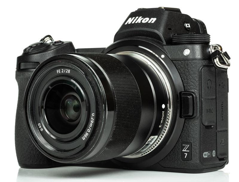 Objectif Sony E sur hybride Nikon Z : bague Techart TZE-01