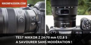 Test Nikkor Z 24-70 mm f/2.8 S