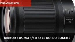Nikkor Z 85 mm f/1.8 S
