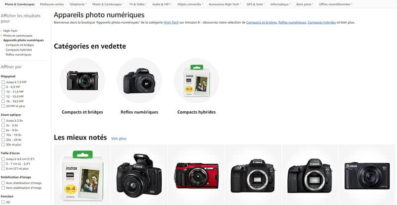 achat matériel photo : où acheter son matériel photo ?