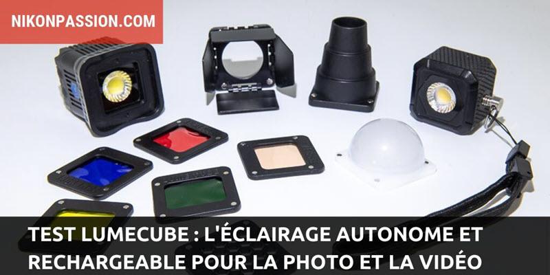Test Lumecube, la lumière continue autonome qui tient dans votre poche