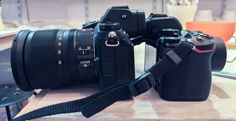 comparaison Nikon Z 50 vs Nikon Z 6