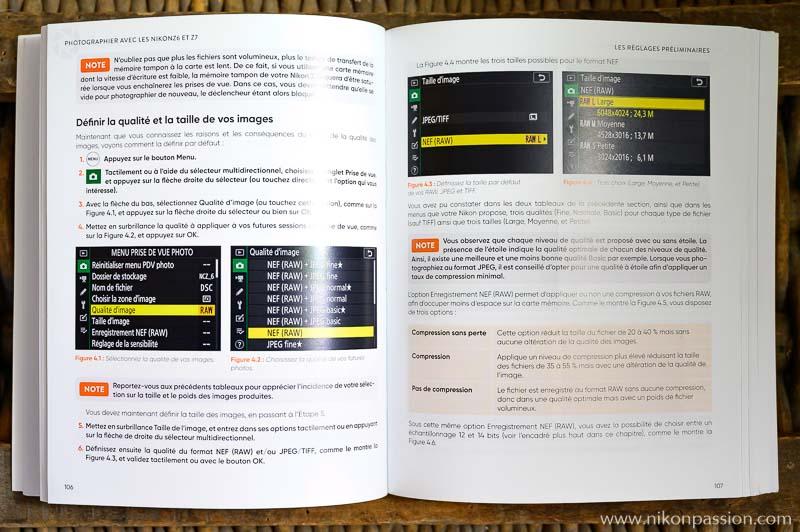Mode d'emploi Nikon Z 6 et Nikon Z 7, par Philip Escartin