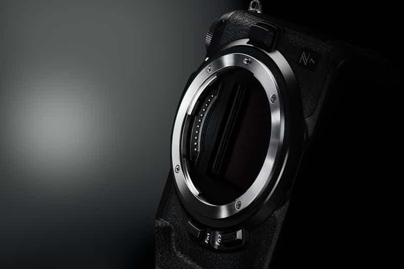 la monture Nikon Z pour les appareils photo Nikon Z hybrides