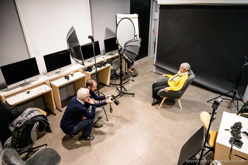 éclairage au flash cobra : de l'intention à la réalisation - mon avis sur la formation Nikon School