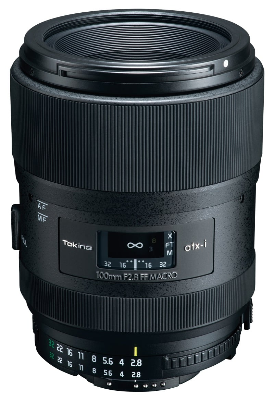Tokina atx-i 100 mm f/2.8 FF pour Nikon et Canon