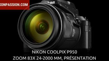 Nikon Coolpix P950 : à vous la lune et les avions avec un zoom 83x équivalent 24-2000 mm !