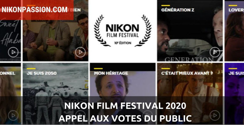 Nikon Film Festival 2020 : appel aux votes du public