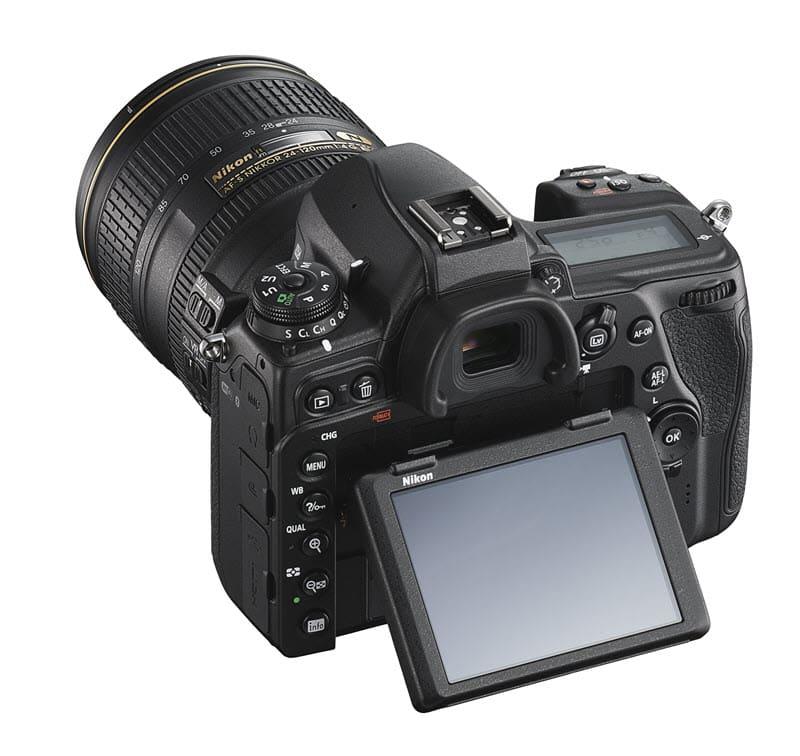 Nikon D780, écran inclinable