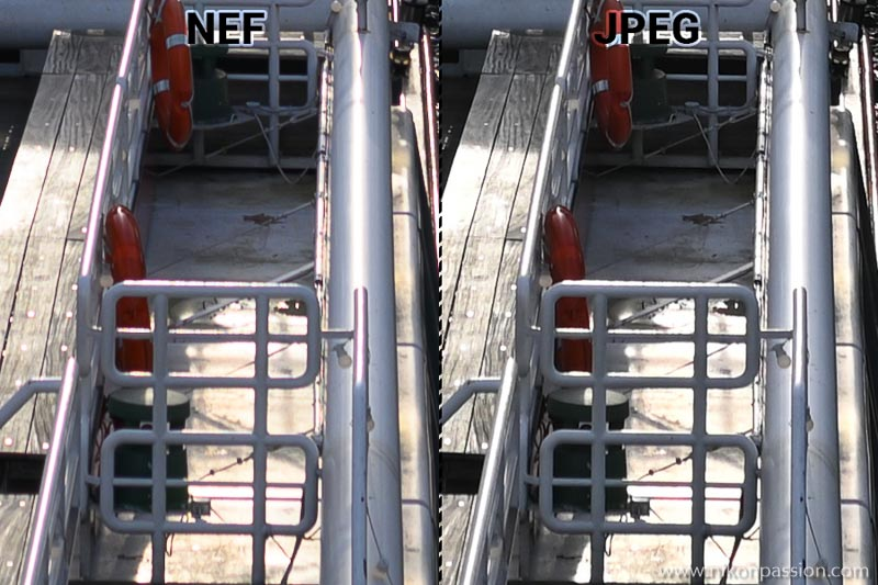 Aberrations chromatiques NIKKOR Z 24 mm f/1,8 S