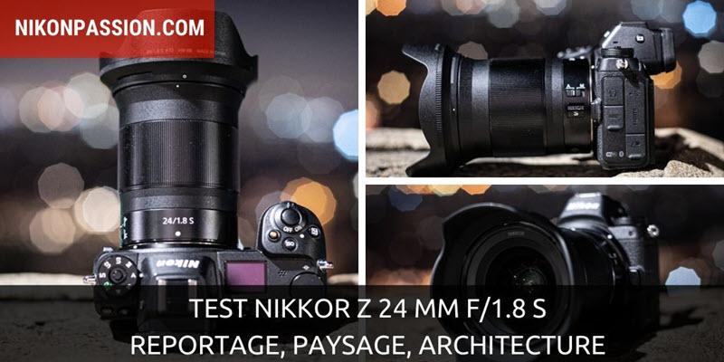 Test NIKKOR Z 24 mm f/1,8 S