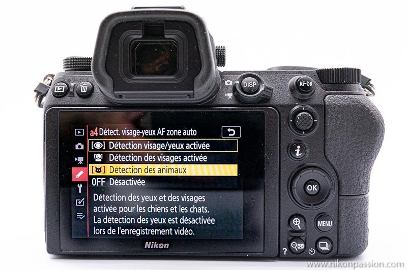 Mise à jour firmware 3.00 pour Nikon Z 6 et Z 7 et 1.10 pour Nikon Z 50 : nouveau suivi AF, Eye-AF animaux et autres améliorations