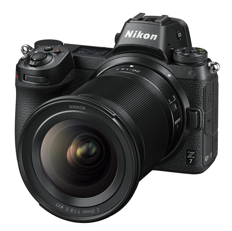 Nikon Z 7 et NIKKOR Z 20 mm f/1.8 S, un objectif à focale fixe