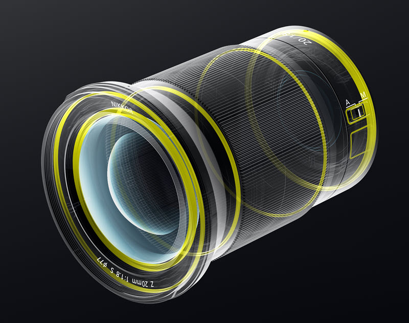 NIKKOR Z 20 mm f/1.8 S