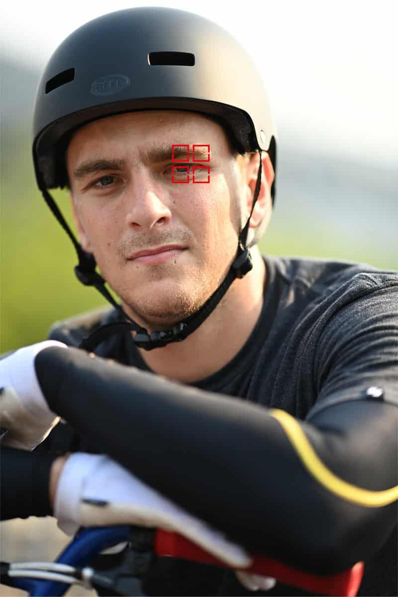 Nikon D6 : eye tracking af