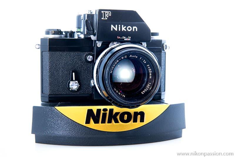 Faire des photos chez soi : le Nikon F