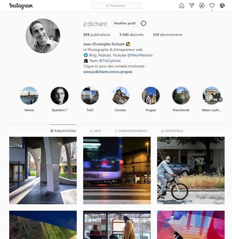 Instagram Jean-Christophe Dichant