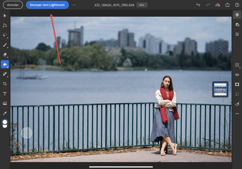 de Photoshop à Lightroom (iPad)