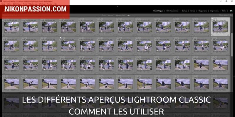 Les différents aperçus Lightroom Classic et comment accélérer Lightroom