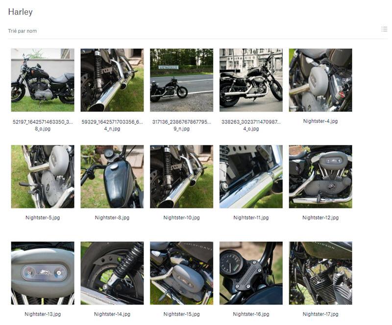 Partager des photos avec Dropbox