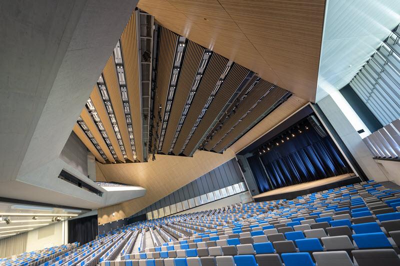 exemple de photo architecture intérieure NIKKOR Z 14-24