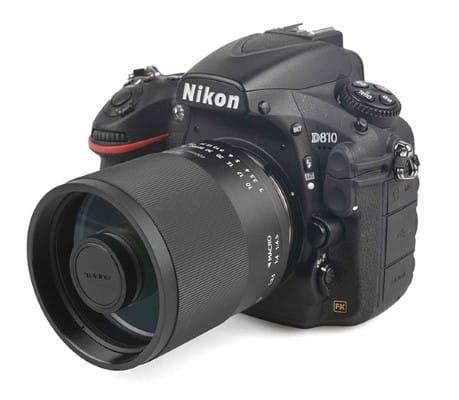 Tokina SZX 400 mm F8 MF pour reflex Nikon