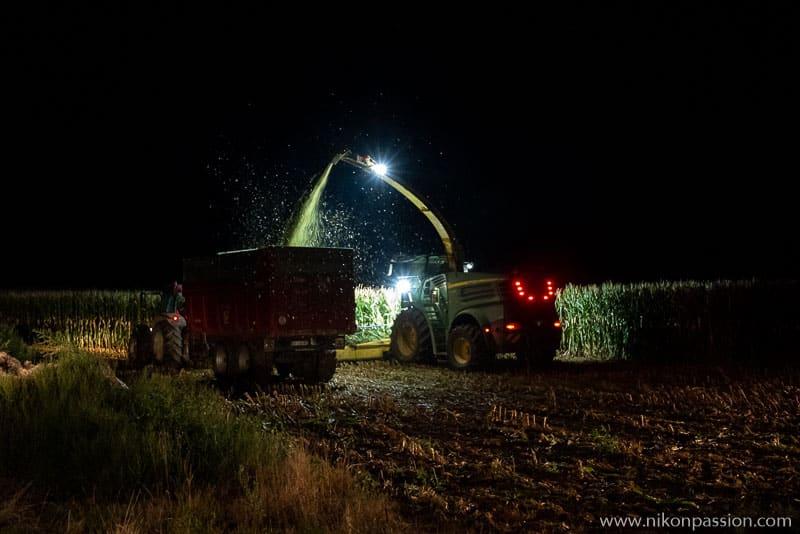 L'ensilage du maïs en Meuse