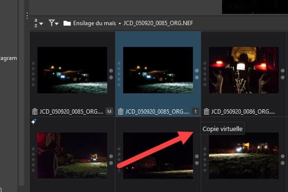 DxO PhotoLab 4 : créer une copie virtuelle