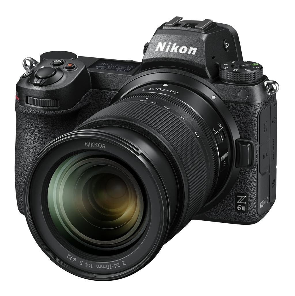 Nikon Z 6 série 2 vue de profil