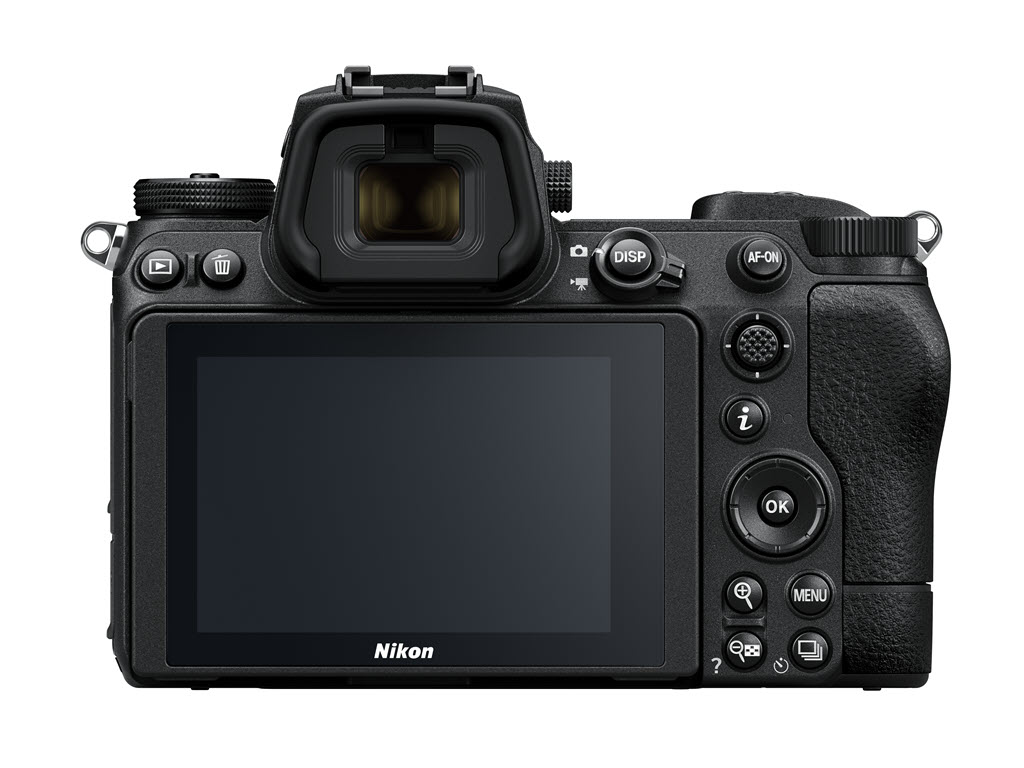 Nikon Z 7 série 2 vu de dos