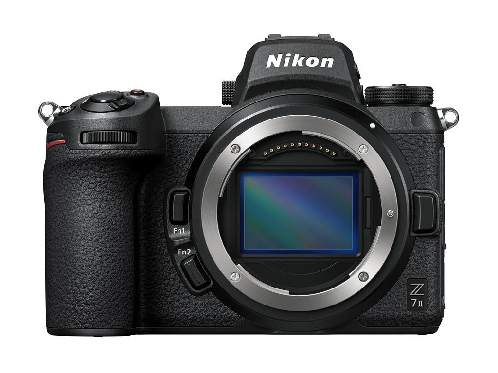 Nikon Z 7 série 2 vu de face