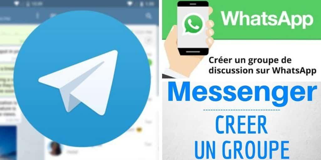groupe de discussion photo whatsapp- telegram - messenger
