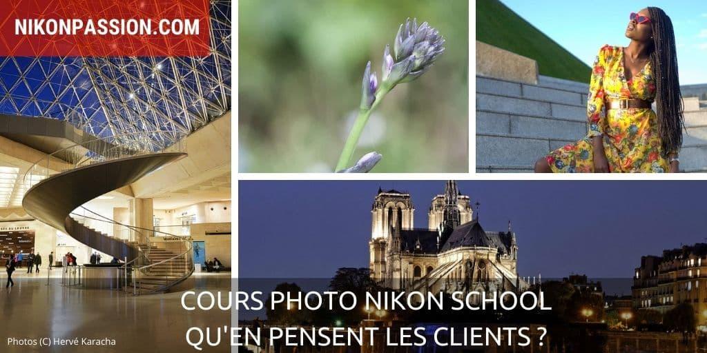Cours photo Nikon School, qu'en pensent les clients ?